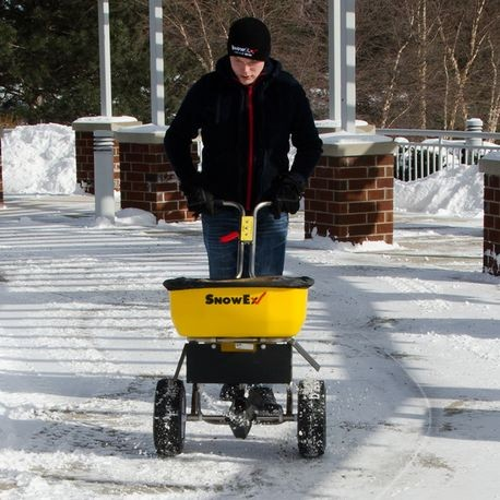 SnowEx Walk-Behind Broadcast Spreader