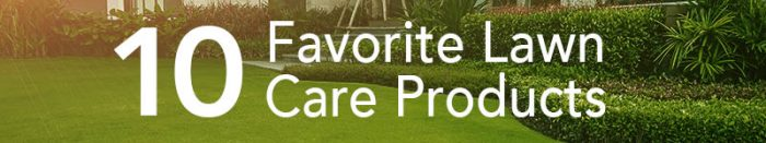 10 Favorite Lawn Care Products